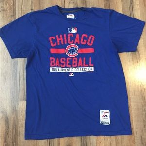 Majestic Authentic Men's Chicago Cubs T-shirt